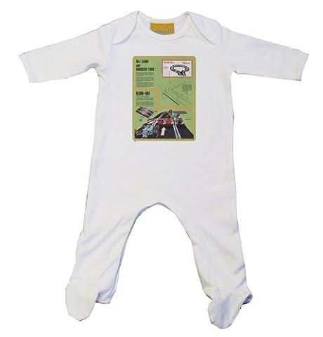 Scalextric–2Body bébé blanc blanc 0-3