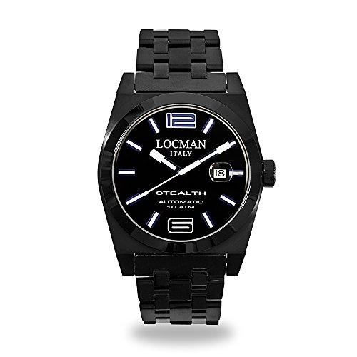 Locman reloj hombre Stealth automática negro