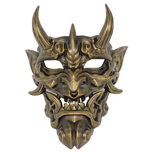 Huacat Halloween Maske Prajna Halloween Maske Kostüm Kollektion Wandbehang Horror Monster Gesicht Maske