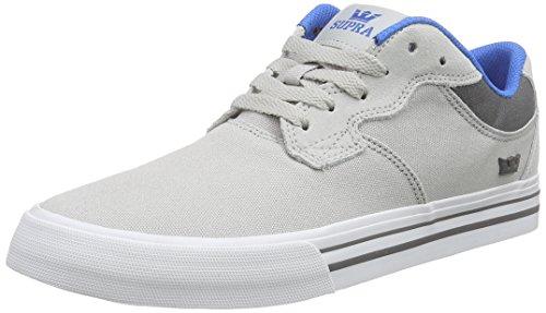 Supra AXLE Unisex-Erwachsene Sneakers Grau (LIGHT GREY / CHARCOAL - WHITE GCH)
