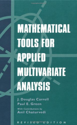 Read Mathematical Tools for Applied Multivariate Analysis, Revised