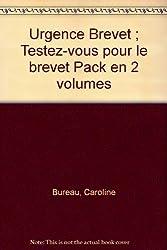 Urgence Brevet ; Testez-vous pour le brevet Pack en 2 volumes