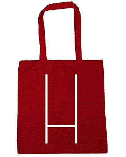 Hippowarehouse ,  Damen Strandtasche Classic Red
