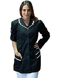 Amazon.it  parrucchiera - Abbigliamento da lavoro e divise ... a3a00db21753
