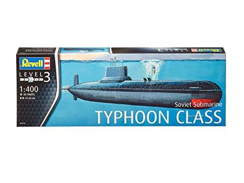 Revell 05318 - Modellino Sottomarino Soviet Typhoon Class, Scala 1:400