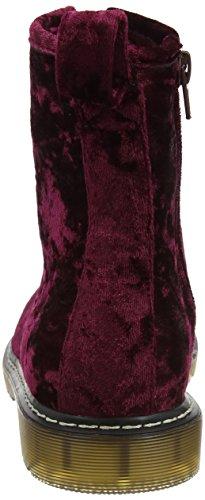 Dolcis Damen Rot Stiefel Velvet Burgundy Delilah rrRPxwBC
