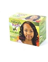 Avocat sans soude Afro Défrisant pour les enfants (1 force pour cheveux fins pour cheveux crépus) by Ayaan Naturals