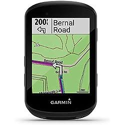 Garmin Edge 530 GPS Ciclocomputer Bundle, con cinghia da petto Premium HF + sensore di velocità e frequenza di pedalata