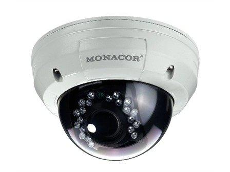 MONACOR TVCCD-252SET Dome-Farbkamera -