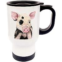 Servierplatten & -schalen Schnelle Lieferung 4 Porzellan Serviettenringe Als Schweinchen