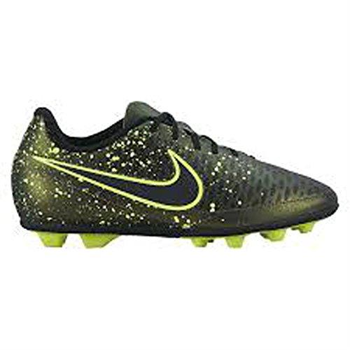 Nike Jr Magista Ola Fg-R, Scarpe da Calcio Unisex Bambini Multicolore (Negro / Verde (Dark Citron / Drk Citron-Blk-Vlt))