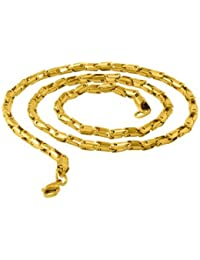 Voylla Dare By Voylla Designer Yellow Gold Plated Chain For Men