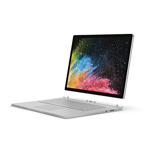Microsoft Surface Book 2 i7 15 inch SSD Convertible Silver