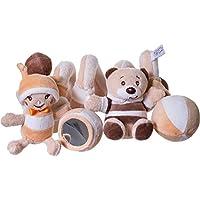 Activity- Spirale Bubu mit Funktion für Kinderwagen, Bett, waschbar, beige: Baby Spirale Spielzeug Baby Kette Motorikspielzeug preisvergleich bei kleinkindspielzeugpreise.eu