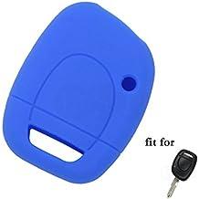 fassport carcasa de silicona Skin Chaqueta Fit para Renault 1Botón de control remoto clave cv9302