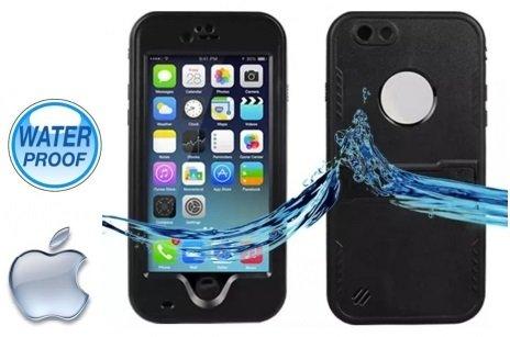 Funda acuática sumergible para nuevo iphone 6 4.7' protección agua, nieve, polvo y caídas Waterproof mismas funciones que lifeproof color Negro