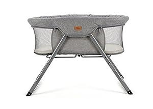 Baby Elegance Kangu Foldable Crib, Grey