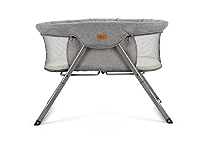 Baby Elegance Kangu Foldable Crib, Grey