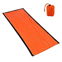 BGDR Lightweight Camping Sleeping Bag Outdoor Emergency Sleeping Bag With Drawstring Sack For Camping Travel Hiking (Color : 1)