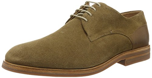 H.D. Hudson Mfg Co. Enrico Suede 43, Chaussures à lacets homme Marron (tabac)