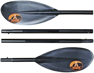 Advanced Elements Packlite Paddle - Remo de kayak y piragua, color gris, talla UK: 230 cm