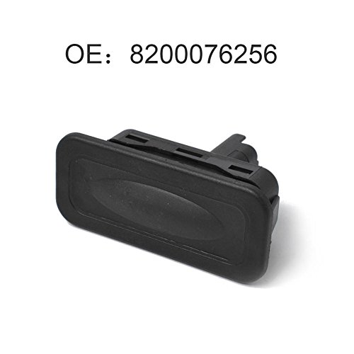 Commutateur Interrupteur dégagement de hayon 8200076256 Noir Tronc Interrupteur