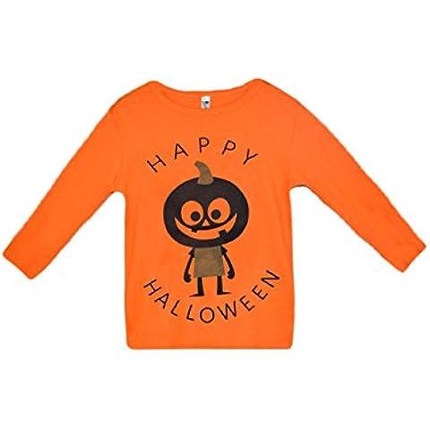 Tkria Niño Unisex Camiseta mangas largas De Halloween Calabaza blusas 1-6 Años
