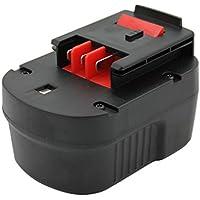 KINSUN Utensili Elettrici Batteria 12V 2.0Ah Per Black & Decker Trapano Senza Cordone Driver di Impatto A12 A12-XJ A12EX A1712 BD12PSK FS120B FSB12 HPB12 Firestorm FS120B FS120BX FS1200D