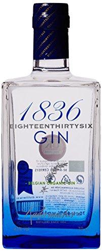 5. 1836 Belgian Organic Gin - Ginebra biológica
