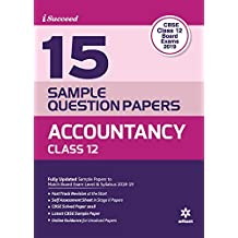 15 Sample Question Paper Accountancy Class 12th CBSE