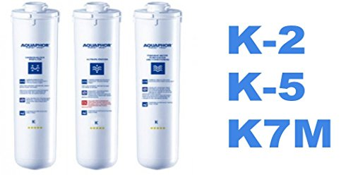 Set von drei Ersatz-Filterkartuschen für Aquaphor Morion - Umkehrosmose Wasser Filtration System