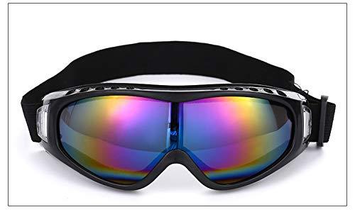 Yiph-Sunglass Sonnenbrillen Mode Neue Outdoor-Brille Männer Frauen Reiten Motorrad Sportbrillen Sand-Beweis Fan Taktische Ausrüstung Ski Brille (Color : Multi-Colored)