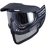 Tippmann Airsoft Maske Tactical Gittermaske, schwarz