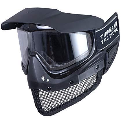 g.i.sportz Softair Maske Tactical Gittermaske Softairmaske mit Thermalglas