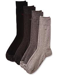 Calvin Klein ECU140 - Lot de 4 paires de chaussettes - Homme