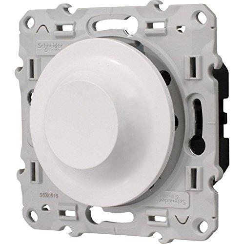 Schneider Electric SC5S520512 Odace variateur universel LED 400 W Blanc