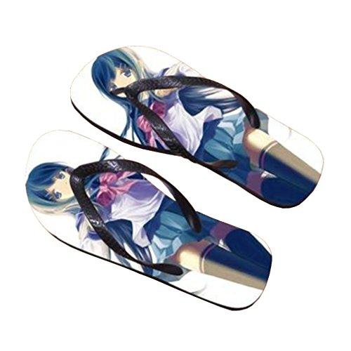 Bromeo Danganronpa Anime Unisexe Flip Flops Tongs 94