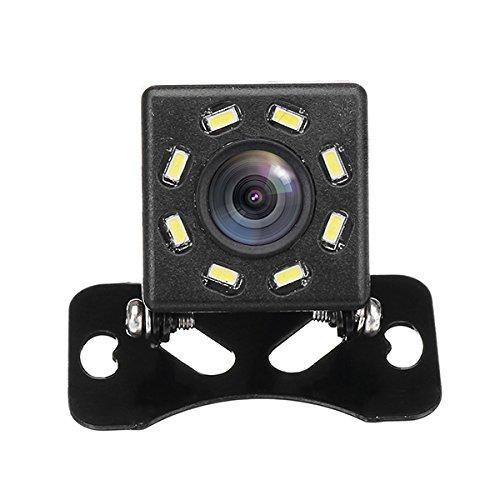AVANI EXCHANGE 8 LED Night Vision 170 Degree Car Rear View Waterproof Reverse Backup Parking Camera -