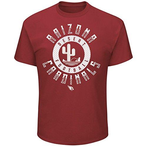 Majestic STARTLING Shirt - Arizona Cardinals rubin - XL (Arizona T-shirts)