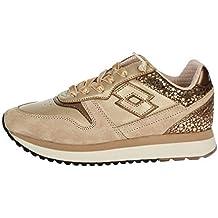 56e1ef6d4a7de Lotto Leggenda T7431 Sneakers Bassa Donna Beige 39