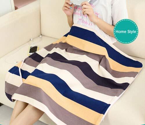 Multifunktionale Anti Strahlung bequeme Decke für schwangere Frau Geschenk 90 cm x 70 cm (35,43 x 27,56 Zoll) EMF-Schutzgewebe Decken (Heimatstil)