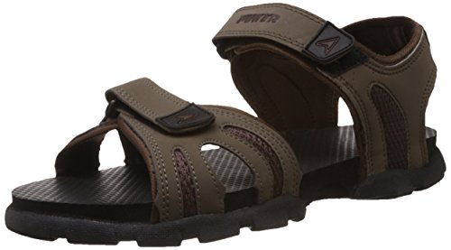 Power Men's Rafter M'S Brown Athletic and Outdoor Sandals - 7 UK/India (41 EU)(8614216)  available at amazon for Rs.469