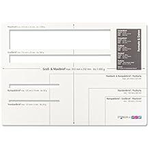 Suchergebnis Auf Amazonde Für Postschablone Formatschablone Briefe