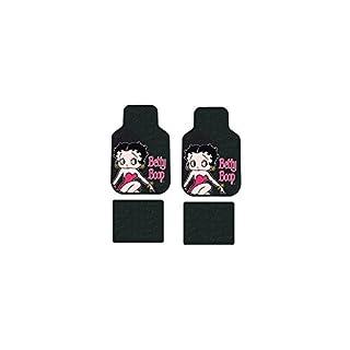 Betty Boop BB1040P Fußmatten Gummi Pink