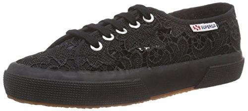 Superga 2750 Macramew, Sneakers Basses femme Noir (Black 996)