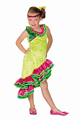 Kinder Kostüm Karibik Südamerika Samba Karneval Fasching Gr.140 (Samba Kostüme Für Kinder)