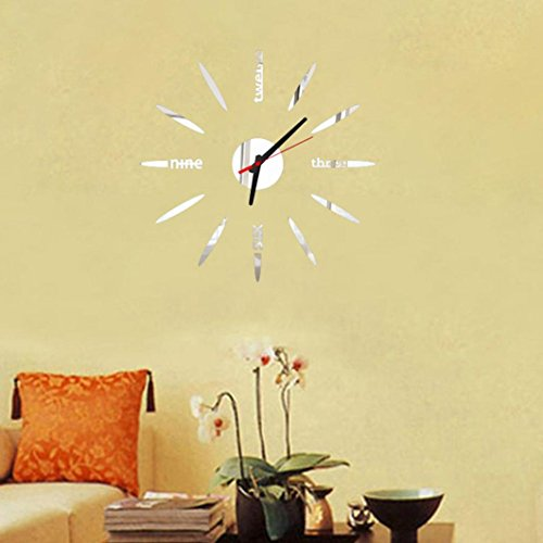 kingko-3d-acrylic-letters-wall-clock-simplify-petals-shape-modern-home-decor-diy-creative-gift-silve
