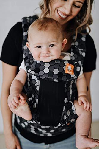 Baby Tula Explore - COAST BUZZ - Marsupio regolabile per neonati e bambini, ergonomico, varie posizioni per 3,2-20,4 kg