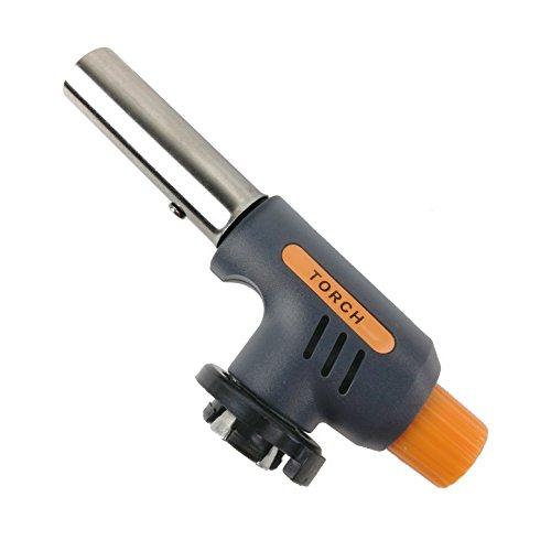 WS-502C Piezo Bunsenbrenner Flammbiergerät Flammbierer Gasbrenner MSF-1 Aufsatz
