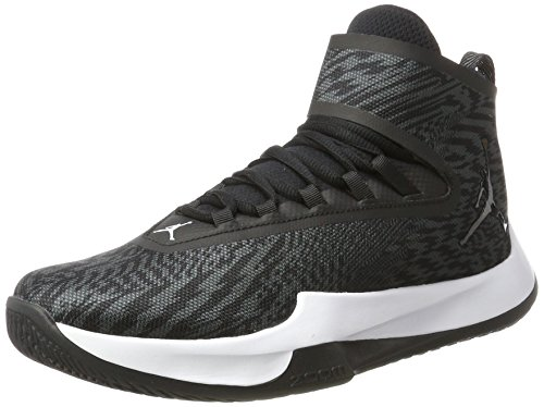Nike Herren Jordan Fly Unlimited Basketballschuhe, Schwarz (Black/Black-Anthracite), 43 EU